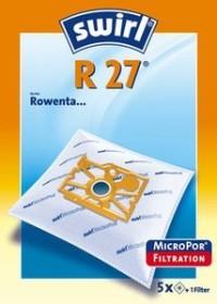 2 ORIGINAL Pakete SWIRL R 22 MicroPor PLUS PureAir Inhalt 8 Staubsaugerbeutel