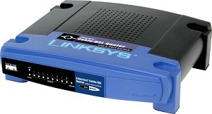 Linksys BEFSR81 router