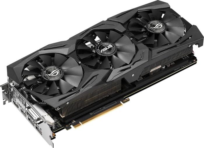 ASUS ROG Strix Radeon RX Vega 64 OC Gaming, ROG-STRIX-RXVEGA64-O8G-GAMING, 8GB HBM2, DVI, 2x HDMI, 2x DP (90YV0B00-M0NM00)