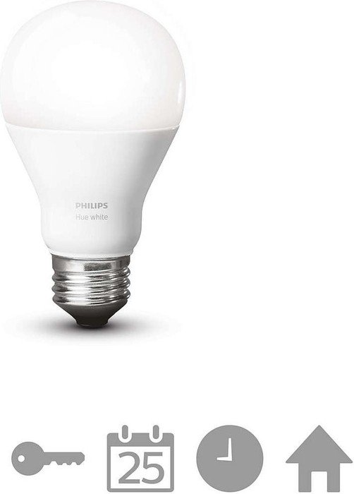 philips hue white single led bulb e27 9 5w 827 929001137006 ab 19 95 2018 heise online. Black Bedroom Furniture Sets. Home Design Ideas