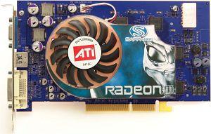 Sapphire hybrid Radeon X800 XT Platinum, 256MB DDR3, DVI, ViVo, AGP, bulk/lite retail (21042-00-10/20)