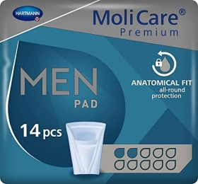 Hartmann MoliMed for men active incontinence pads, 168 pieces