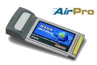 D-Link AirPro DWL-AB650, Cardbus