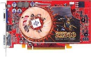 MSI RX800XT-VTD256E, Radeon X800 XT, 256MB DDR3, DVI, ViVo, PCIe (MS-8980-008)