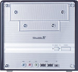 Shuttle XPC SK83G Mini-Barebone (Socket 754/2.4GHz/PC3200 DDR)