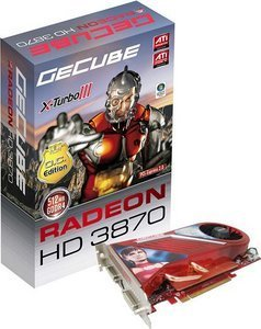 GeCube Radeon HD 3870 X-Turbo III,  512MB GDDR4, 2x DVI, TV-out, PCIe 2.0 (GC-XHD3870XTG4-E3)