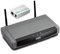 D-Link DWL-1500 11Mbit/s, wireless Bridge Access Point
