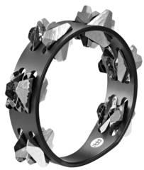 Meinl CSTA2S-BK schwarz Compact Tambourines