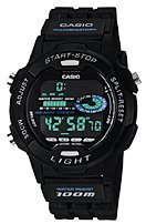 Casio Sports Timer W-731H (Sportuhr)