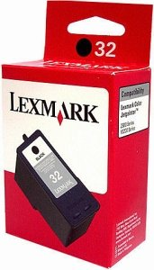 Lexmark 32 Printhead with Ink black (18C0032E)