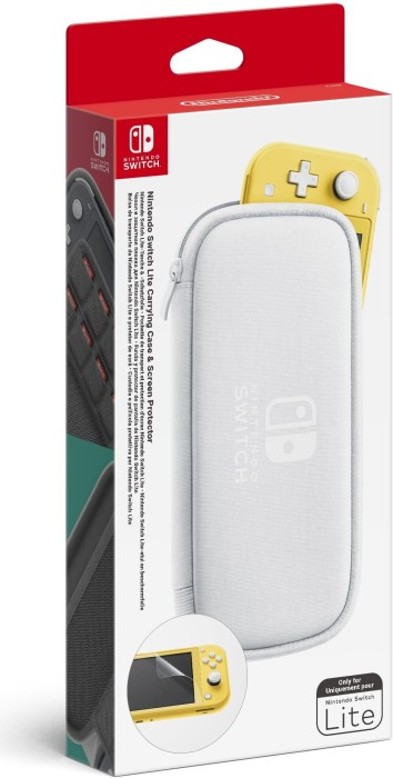 Nintendo switch Lite bag & protective foil (switch)