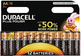 Duracell Plus Power Mignon AA, 12er-Pack