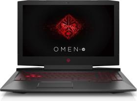 HP Omen 15-ce002ng Shadow Black, Core i7-7700HQ, 16GB RAM, 256GB SSD, 1TB HDD, GeForce GTX 1060 Max-Q, DE (1UR24EA#ABD)