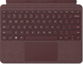 Microsoft Surface Go signature Type Cover, burgundy red, Commercial, US international (KCT-00047)