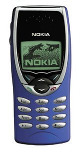 Nokia 8210 blue/red