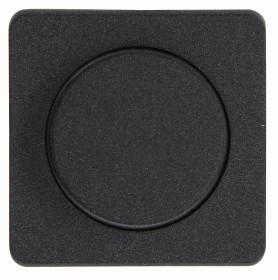 Kopp Milano Dimmer-Abdeckung für Druck-Wechseldimmer, anthrazit (328815186)