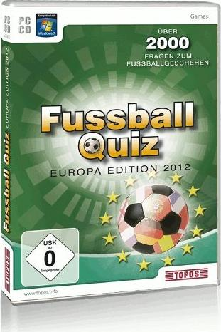 Fußball Quiz Europa Edition 2012 (deutsch) (PC) -- via Amazon Partnerprogramm