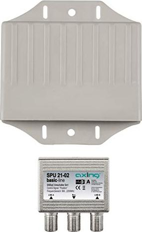 Axing SPU 21-02 2/1 DiSEqC switch (SPU02102) -- via Amazon Partnerprogramm