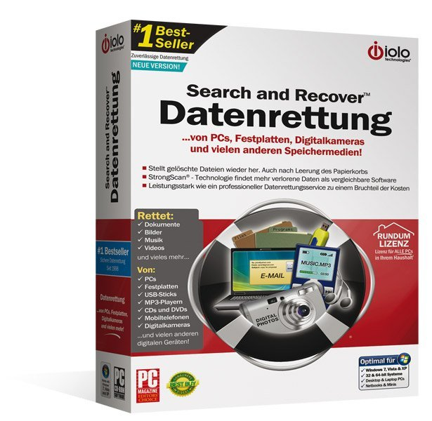 Avanquest: Search And Recover Datenrettung (deutsch) (PC) (IO-11189)