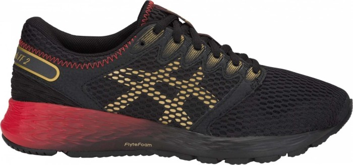 Asics RoadHawk FF 2 black/rich gold (Damen) (1012A503-001)