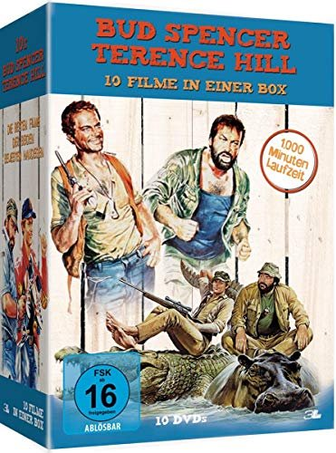 Bud Spencer & Terence Hill Box (10 DVDs) -- via Amazon Partnerprogramm