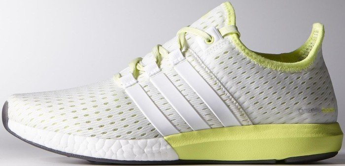 check out a7cdb 4f58e adidas Climachill Gazelle Boost ftwr whitelight flash yellow (Damen)  (B40741)