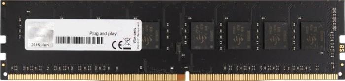 G.Skill NT Series DIMM 8GB, DDR4-2400, CL15-15-15-35 (F4-2400C15S-8GNT)
