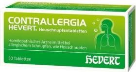 Hevert Contrallergia Heuschnupfentabletten, 50 Stück