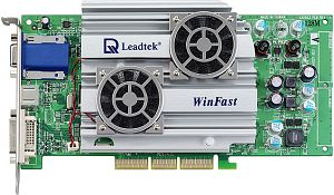 Leadtek WinFast A280 TD, GeForce4 Ti4400 8X (4800SE), 128MB, DVI, TV-out, AGP