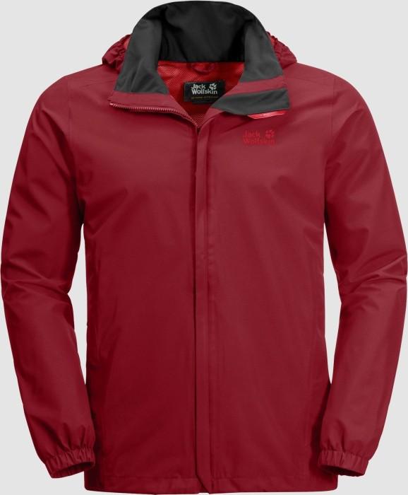 Jack Wolfskin Stormy Point Jacke red maroon (Herren) (1111141-2049)