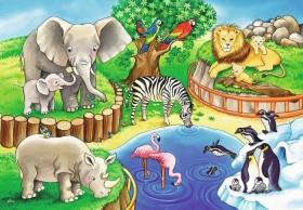 Ravensburger Puzzle Tiere im Zoo (07602)