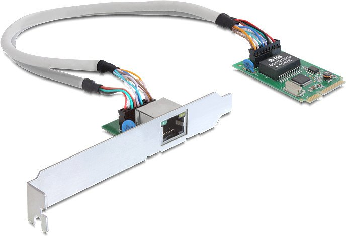 DeLOCK 95228, RJ-45, PCIe Mini Card