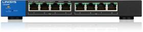 Linksys LGS300 desktop Gigabit Smart switch, 8x RJ-45, 78W PoE+ (LGS308P)
