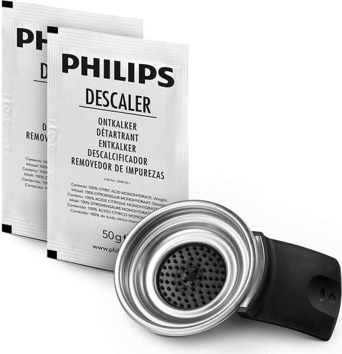 Philips Senseo Original CA6514/01 1-cups pad holder and descaler