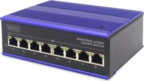 Digitus Professional DN-651 Industrial desktop Gigabit switch, 8x RJ-45 (DN-651119)
