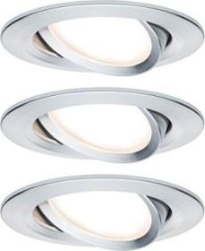 Paulmann Nova LED 6.5W built-in light, 3er set (934.51)