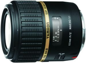 Tamron SP AF 60mm 2.0 Di II LD IF Makro 1:1 für Canon EF schwarz (G005E)