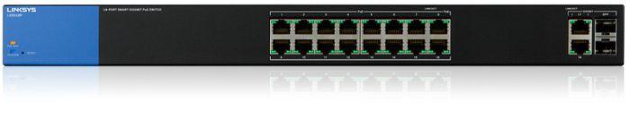 Linksys LGS318P 18-Port Business Gigabit Smart Switch PoE+