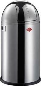 Wesco Pushboy Zilver.Wesco Pushboy 50l Garbage Can Stainless Steel 175834 41 From 176 54