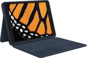 """Logitech Rugged Combo 3 Touch, KeyboardDock for Apple iPad 10.2"""", blue, DE (920-010361)"""