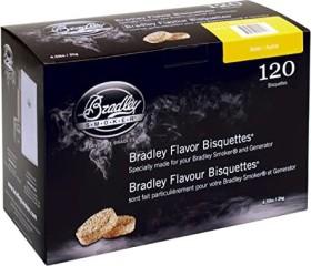 Bradley Smoker alder smoking bisquettes, 120-pack