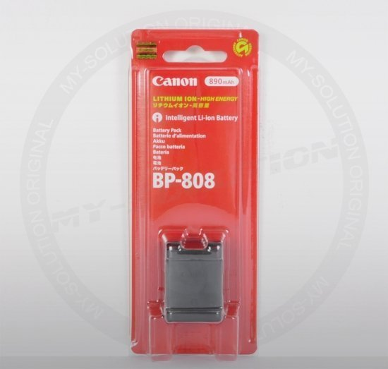 Canon BP-808 Li-Ion battery (2740B002) -- © My-Solution.de