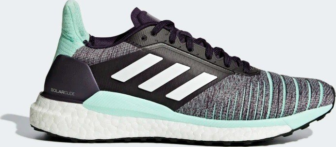 adidas Solar Glide legend purple/ftwr white/clear mint (Damen) (D97447)