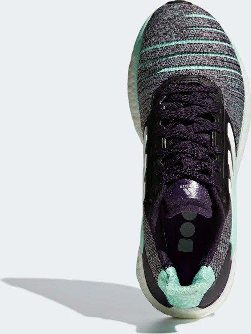 adidas Frauen Solar Glide Laufschuh legend purpleftwr whiteclear mint D97447