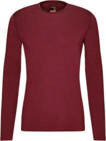Icebreaker Merino 200 Oasis Crewe Shirt langarm cabernet (Herren) (104365-616)