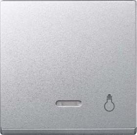 Merten System M Wippe Thermoplast edelmatt, aluminium (430960)
