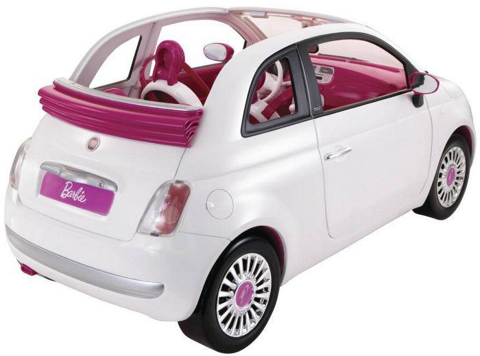 mattel barbie r1623 0 barbie mit fiat puppe und auto. Black Bedroom Furniture Sets. Home Design Ideas