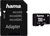 Hama High Speed R22 microSDHC + Adapter Mobile 16GB Kit, Class 10 (181088)