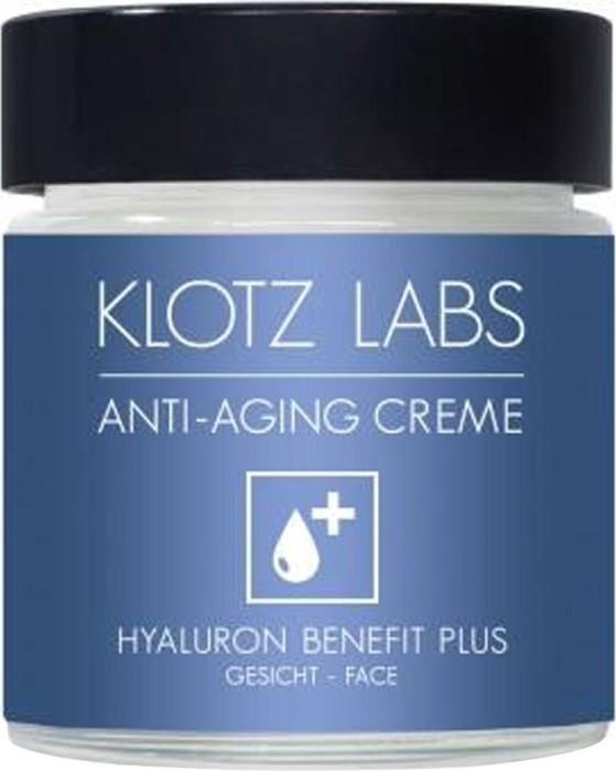 klotz labs hyaluron benefit plus anti age gesichtspflege 30ml ab 45 19 at 2018. Black Bedroom Furniture Sets. Home Design Ideas