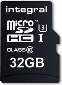 Integral Action Camera R95/W90 microSDHC 2x 32GB, UHS-I U3, Class 10, 2er-Pack (INMSDH32G10-ACT-TWIN)